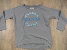 Hollister Décontracté Pince Sweatshirt gris taille XS top rj917