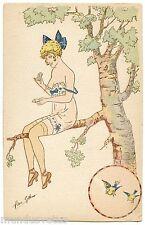 a/s René GILLES. EROTIQUE EROTIC JOLIE FEMME. BEAUTIFUL LADY. Série 358