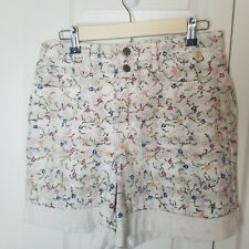 Juniors 13 Shorts High Waisted Floral Mom Pockets Arizona Vintage Made in USA