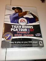 NIB Tiger Woods PGA Tour Family DVD Video Game