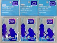 Clean & Clear Oil Control Film Oil-Absorbing Blotting Paper 60 Sheets (3 Pack)