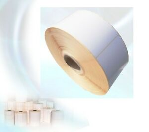 Thermal Blank White Self Adhesive Sticky Labels 102x152mm