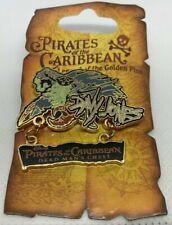 Disneyland Pirates of the Caribbean Legend of the Golden Pins Davy Jones