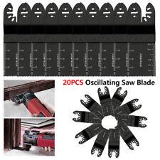 20 X Oscillating Multi Tool Saw Blades For Fein Multimaster Makita Bosch Dewalt