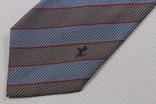 FERRARI men's silk neck tie made in Italy