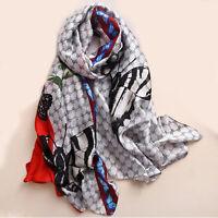 Silk Scarf Winter Hijab Warm 2020 Bandana Cachecol Pashmina Women Scarf Scarves