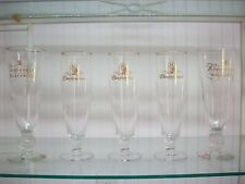 Vintage Tall Budweiser Glasses 2 Are Millennium 5 Glasses In All