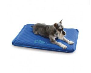 """K & H Coolin' Comfort Pet Bed Size Medium. 22""""x32""""inches (BLUE) Indoor/Outdoor"""