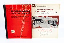 Communications Receiver Manuals & Communications Equipment Schematics 2 Books