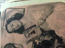 m2v ephemera 1950s film picture patricia roc  reading