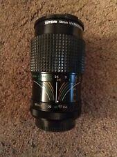 58mm camera lens