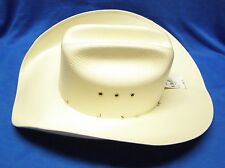 Master Hatters of Texas 20X Cowboy Hat Cattleman Crease Size 55 - 6 7/8 No Band