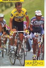 CYCLISME carte  cycliste XABIER ALDANONDO  équipe ONCE 1993