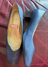 Ladies  Clarks New Shoes  Size 4,5 Blue, Upper Leather , Low Heels Extra Wide