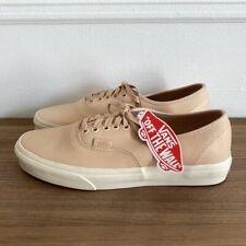 NEW Vans Authentic Vegetable Tan Leather Sneakers Vachetta Men's 8.5, Women's 10