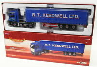 Corgi 1/50 Scale Model Truck CC13423 - MAN TGA Curtainside - R.T.Keedwell Ltd