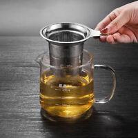 Infuser Loose Tea Leaf Strainer Herbal Spice Stainless Steel Filter DiffuserDT