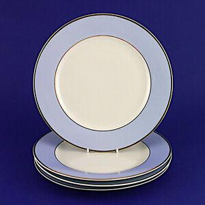 """Four Royal Doulton Bruce Oldfield Dinner Plates (2004) - 26cm/10.25"""" Diameter"""