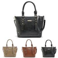 Women Handbag Shoulder Bag Tote Purse Lady PU Leather Messenger Hobo Bag Satchel