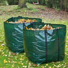 More details for 2 x garden waste bag 82l with handle reduce grass rubbish waterproof reusable