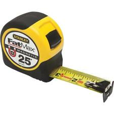 "(6)-Stanley FatMax 25' X 1-1/4"" Wide Blade SAE Magnetic Tape Measure FMHT33865S"