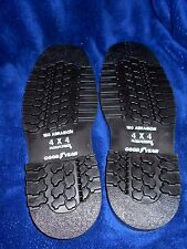 GOODYEAR 4X4 AQUATRED  SOLES FOR HIKING, WORK, DESERT USE  SOLES SIZE 11TO12