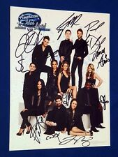 SIGNED 2011 American Idol Live 10th Anniversary Concert Tour Program Ltd Ed Book