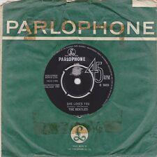 THE BEATLES - She Loves You [Vinyl Single 7 Inch,1963] UK R 5055 1st Press *EXC