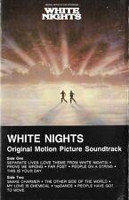 WHITE NIGHTS<>Original Film Soundtrack<>CASSETTE ~