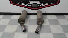 2005-2006 PONTIAC GTO OEM Exhaust Mufflers LH RH SCRATCHED DENTED