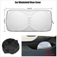 Foldable Universal Car Front Windshield Sunshade Visor Cover Anti-UV 150*70cm
