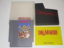 Dr. Mario (Nintendo NES, 1990) **COMPLETE**