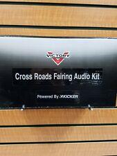 VICTORY CROSS ROADS FAIRING AUDIO KIT BY KICKER SPEAKERS NIB 2878560 MAKE OFFER