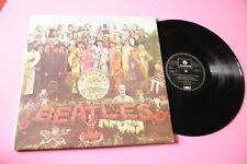 BEATLES LP SGT PEPPER'S ITALY PRESS RARE MADE SWEDEN !!!! NUMERAZIONE ITALIANA