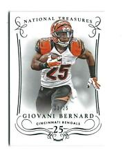 2014 National Treasures Century Numbers #31 Giovani Bernard Bengals /25