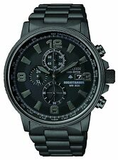 Citizen Men's Eco-Drive HTM 2.0 Deep Black IP Chronograph Watch CA0295-58E