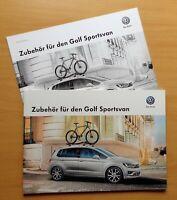 1371) Zubehör für den VW Golf Sportsvan - Prospekt 2014 brochure + Preisliste