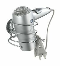 Wenko Turbo-Loc Chrom Haartrocknerhalter Fönhalter Fönhalterung Kabelhalter NEU