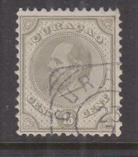 CURACAO, 1889 perf. 12 1/2 x 12, 15c. Drab, used.
