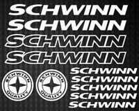 SCHWINN Vinyl Die-Cut Sticker Kit Decal Funny JDM MTB Cycling BMX Bicycle Bike