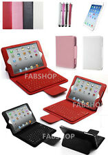 """WIRELESS BLUETOOTH KEYBOARD LEATHER CASE COVER FOR IPAD AIR MINI PRO 9.7"""" 10.5"""""""