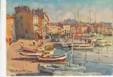SAINT-TROPEZ peinture de R. Chaillaux