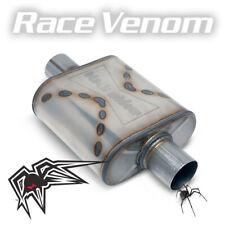 Black Widow Race Venom Exhaust Muffler Centercenter 25 Connections Sale