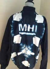 Maharishi Stadium Men Jacket Navy Organic Cotton Shibori Size L NEW $260