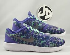 NIKE FREE RN ( GS) PRINT RUNNNING SHOES ( 859588 500 ) SIZE 5Y = WMNS SZ 6.5