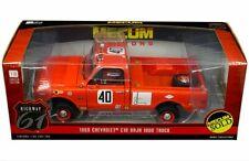Highway 61 1:18 Mecum Auctions 1969 Chevrolet C-10 Baja 1000 Truck Diecast Car
