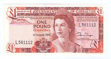 More details for 1988 unc gibraltar £1 one pound note banknote crispy queen elizabeth ii