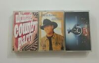 Country Music Cassette Lot of 3 Titles SEE DESCRIPTION FOR TITLES