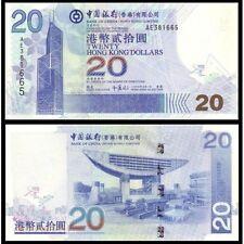 HONG KONG 20 Dollars 2003 UNC P 335 a