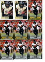2020 LOT OF 9 ROOKIE CARDS KE'SHAWN VAUGHN TAMPA BAY BUCCANEERS VANDERBILT